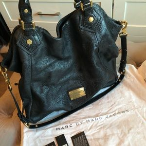 Marc By Marc Jacobs Classic Q Francesca Black Tote